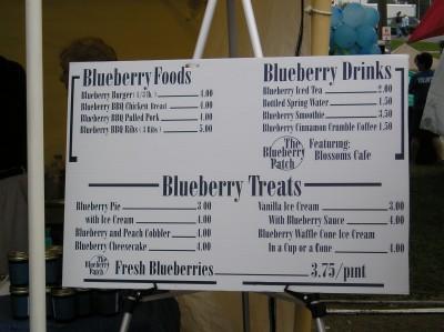 lexington blueberry