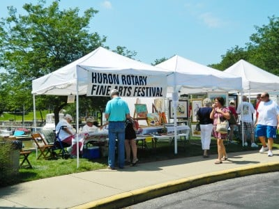 Huron Rotary Fine Art and Food Festival