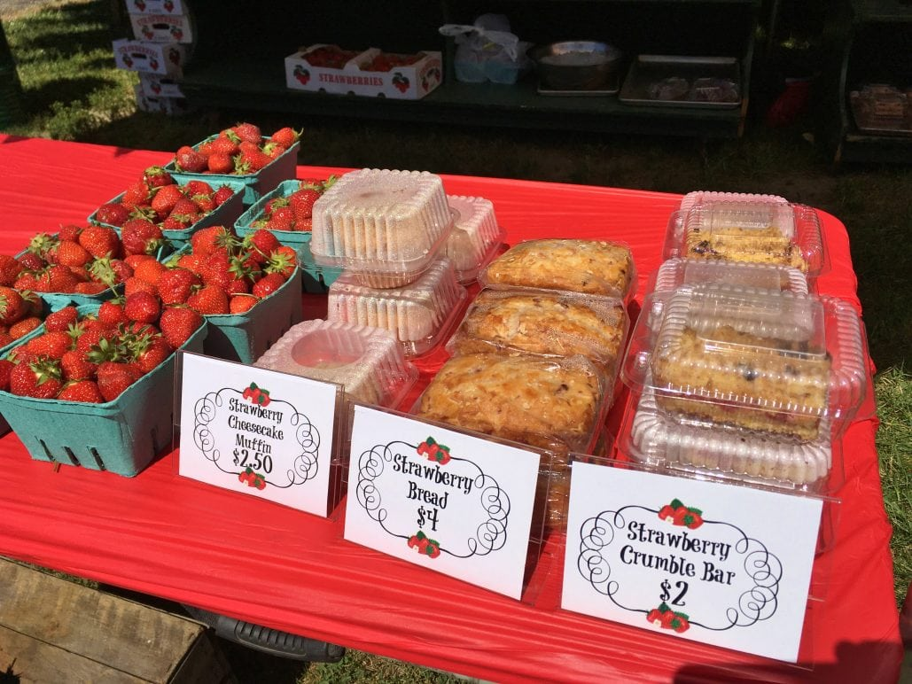 Strawberry festival dates in Perth
