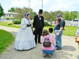 Abraham Lincoln and Mary Todd Lincoln with Family